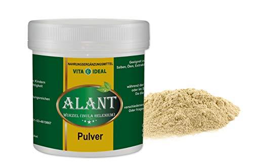VITAIDEAL ® Alant Wurzel PULVER 300g (Inula Helenium) + Messlöffel von NEZ-Diskounter