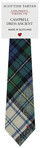 I Luv Ltd Garçon Tout Cravate en Laine Tissé et Fabriqué en Ecosse à Campbell Dress Ancient Tartan