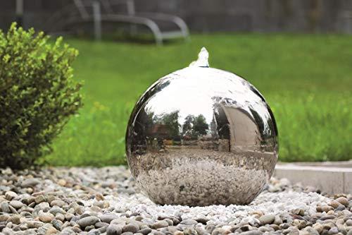 seliger Edelstahl-Gartenbrunnen Atlantic