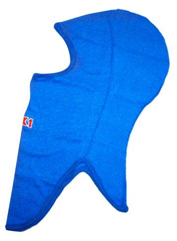 K1 Race Gear 701432 Blue Cotton Full Face Head Socks - Balaclava