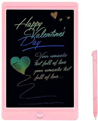 JOEAIS Tavolette per Scrittura LCD Colorato 8,5 Pollici Doodle Scrittoio elettronico Tavolo da Disegno Digitale Tavoletta Grafica Adatto per Bambini, casa, Scuola, Ufficio (Rosa)