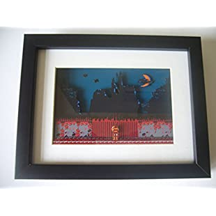 NES Castlevania Intro 3D Art Shadow Box Diorama