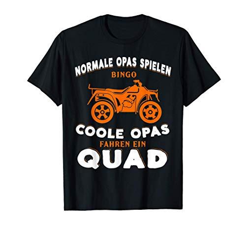 Herren Quad Opa Bike Zubehör ATV Geschenk T-Shirt