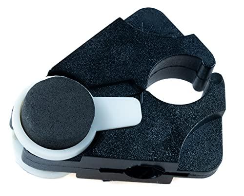 Stock-Fachmann® Stockhalter Gehstockhalter In Der Farbe Schwarz Befestigung der Gehhilfe am Tisch