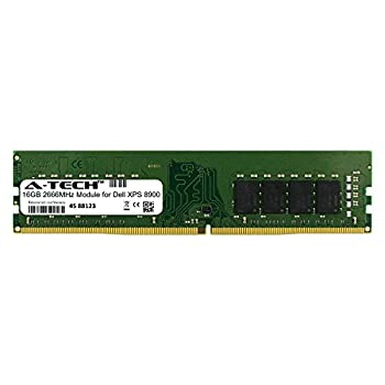 A-Tech 16GB Module for Dell XPS 8900 Desktop & Workstation Motherboard Compatible DDR4 2666Mhz Memory Ram  ATMS360885A25823X1