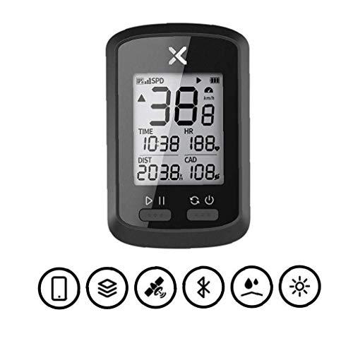 G + Velocimetría GPS Sin Hilos Impermeable Bicicleta De Carretera Velocímetro Bluetooth Hormiga Bicicleta a Prueba De Agua + Cadencia con La Cadencia del Ritmo Cardíaco