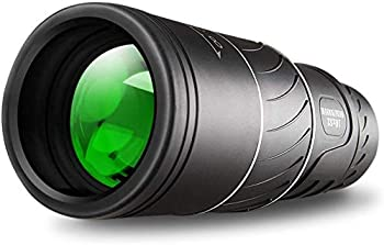 Monocular Telescope,16x52 Monocular Dual Focus Optics Zoom Telescope Day & Low Night Vision- Waterproof Monocular with Durable and Clear FMC BAK4 Prism Dual Focus for Bird Watching