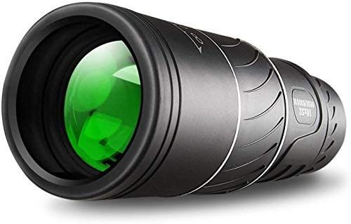 Monocular Telescope,16x52 Monocular Dual Focus Optics Zoom Telescope, Day & Low Night Vision- [Upgrade] Waterproof Monocular with Durable and Clear FMC BAK4 Prism Dual Focus for Bird Watching,