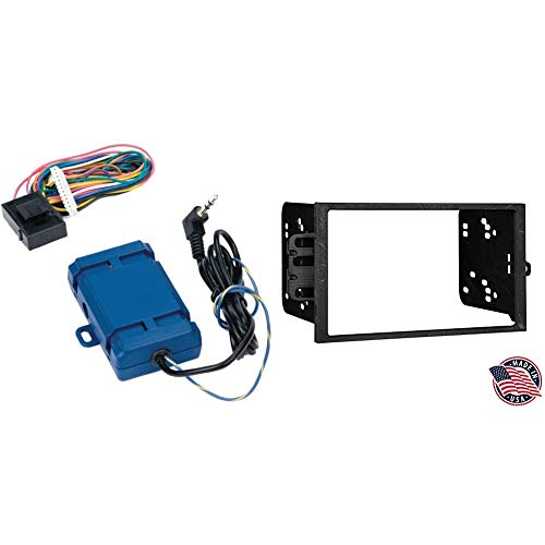 PAC SWI-RC Steering Wheel Control Interface SWI-RC-1. & Metra Electronics 95-2001 Double DIN Installation Dash Kit for Select 1990-Up GM Vehicles