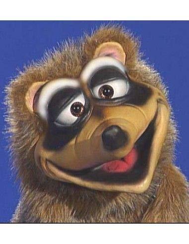 Axtell Puppets - Marioneta de Mapache para ventriloquía Profesional