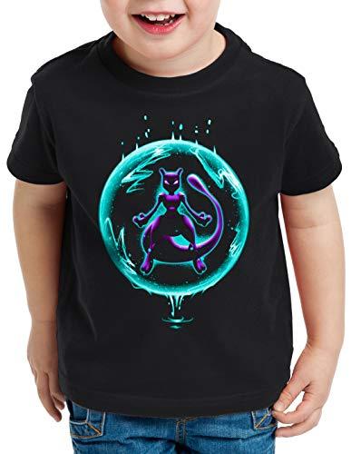 CottonCloud Legendary Psychic T-Shirt für Kinder Monster Spiel online, Größe:140