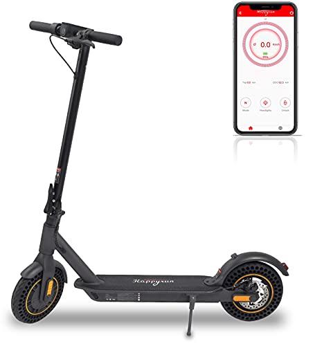 350w Erwachsener Falten Elektroroller mit Smartphone APP zur Einstellen von Geschwindigkeitsbegrenzung / 29 km/h Höchstgeschwindigkeit Erwachsene Elektroroller Lange Reichweite