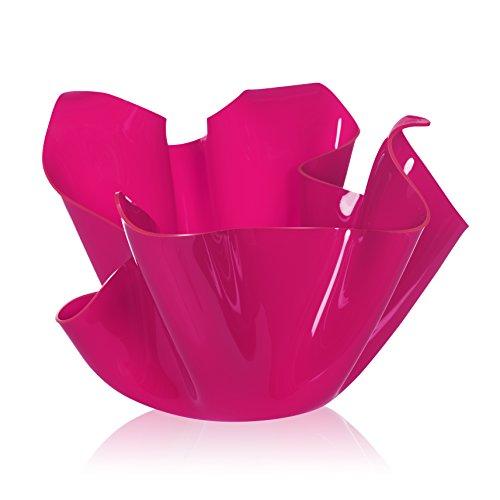 Iplex Design Décoration d'auteur Pot Multi-Usage, Acrylique, Rose, 45 x 45 x 29 cm