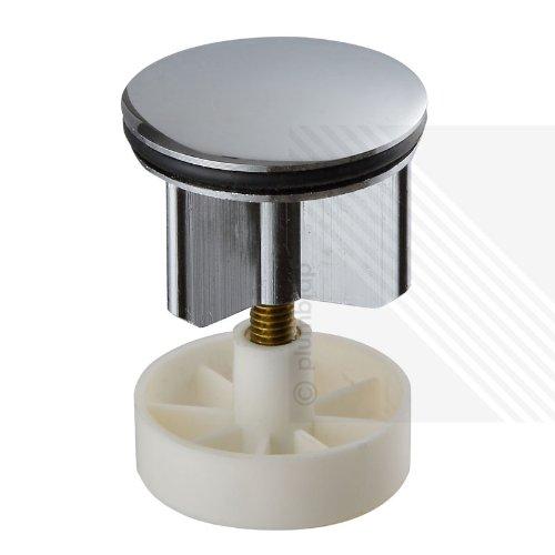 BargainUniverse/® 40mm HEAVY CHROME PLATED BASIN SINK POP UP PLUG