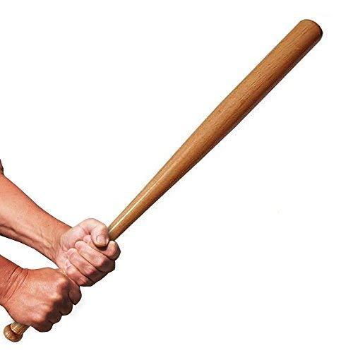SLS SHOP Mazza da Baseball Softball Legno 73CM 3O Pollici Mazze Sport Softball Resistente