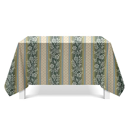CYYyang Tela de Tabla Antideslizante del algodón del Poliester Cubierta Simple de la Tabla de la Manera Arte de Textura Pintada