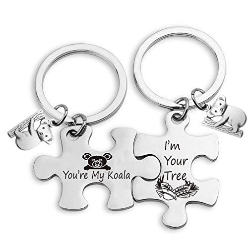 Llavero de Koala EIGSO para parejas de Koala Lover regalo You