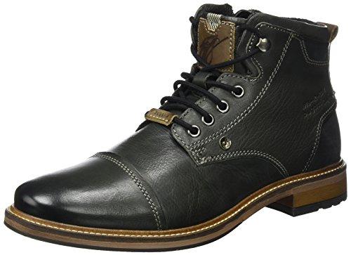 bugatti Herren 311377331000 Klassische Stiefel, Schwarz, 44 EU