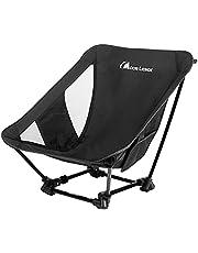 Moon Lence アウトドアチェア キャンプ椅子 グランドチェア 軽量 折りたたみ コンパクト ハイキング お釣り 登山 耐荷重150kg