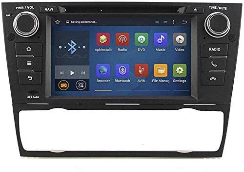Android Android 9.0 Sat Nav 2 DIN Car Stereo Radio para BMW E90 E91 E92 E93 Navegación GPS 10.1 Pulgadas Unidad Principal Receptor de Video Multimedia Carplay DSP RDS