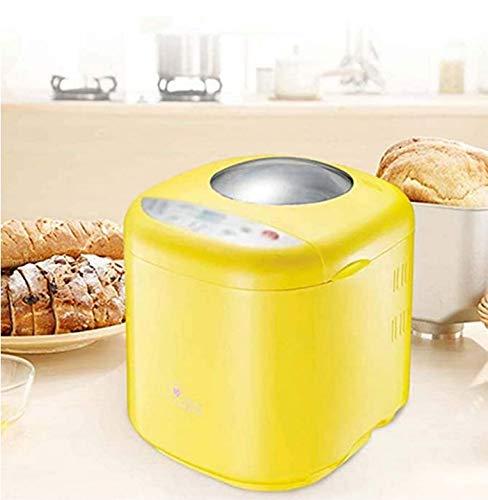 Broodmachine, automatische broodmachine met notentoevoer, broodmachine met 10 programma's, koken broodmachine, antiaanbakpan, glutenvrij Wheat 3 broodmaten en 3 kleuren