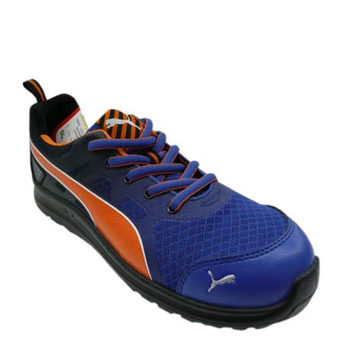 フラグラントリーガンマダム[プーマ セーフティー] 安全靴 安全スニーカー シューズ Marathon Red Low マラソン ブルー ロー No.64.335.0 樹脂先芯 クッション