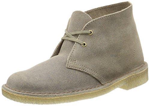 Clarks Originals Women's Desert Lace-Up Boot,Taupe,7 M US