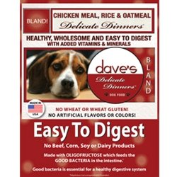 Dave's Pet Food Delicate Dinner ETD Chicken Meal,...