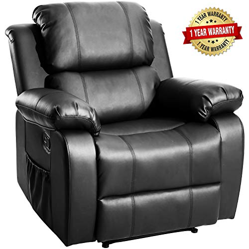 Merax Massage Recliner Chair with Heat and Massage Heated...