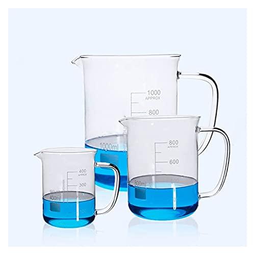 BQFLZY Laboratorios De Laboratorio Espesar Vidrio Vidrio Laboratorio De Hogar Herramientas De Medición Escuela Equipo Químico Experimento Equipo Alta Temperatura Resistencia