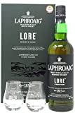 Laphroaig Lore Gift Pack with 2x Glasses 1X70 Cl 48% Whisky