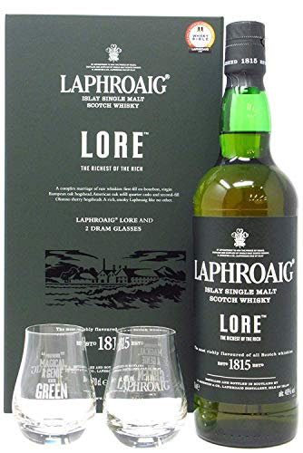 Laphroaig - Lore & Glasses Gift Pack - Whisky