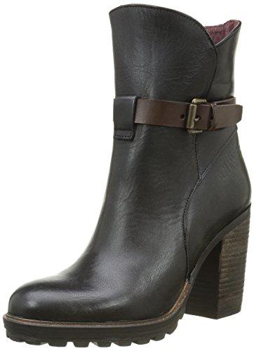 BUNKER Damen Zada Af Klassische Stiefel, knöchelhoch, Schwarz (Black), 41 EU