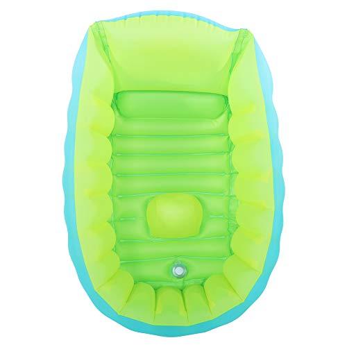 Jiawu Bañera para bebés, bañera para niños Exquisita Inflable con Respaldo de 45 Grados para bebés para Tomar un baño para bebés y niños para Productos de baño(S)