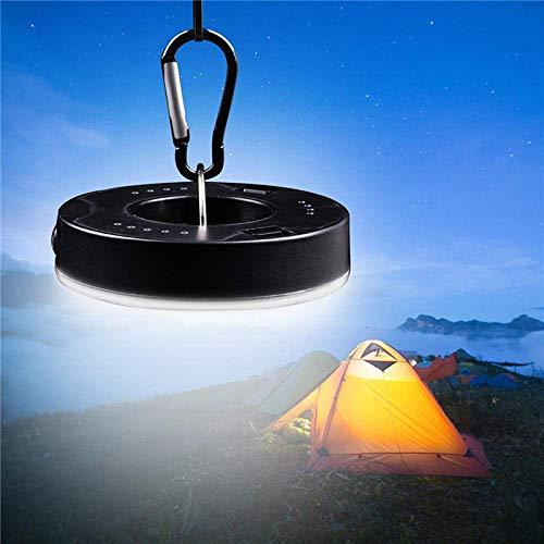 Acampar camping luces luces y linternas recargables acampa ligero de la luz...
