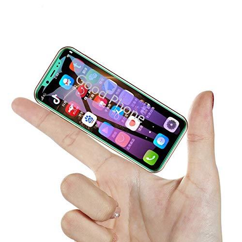 JJA BROS Melrose 2019 con Huella Digital Android 8.1 4G LTE Dual sim Mini Smartphone 2 + 32GB 3,46'Quad Black