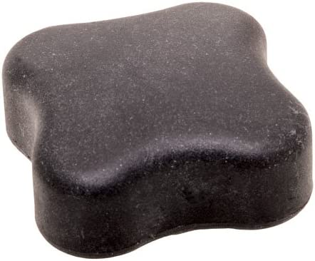 RK-40 Soft-Touch Thermoplastic New product type Mail order Four-Lobe 3.00 Inch Diameter Knob