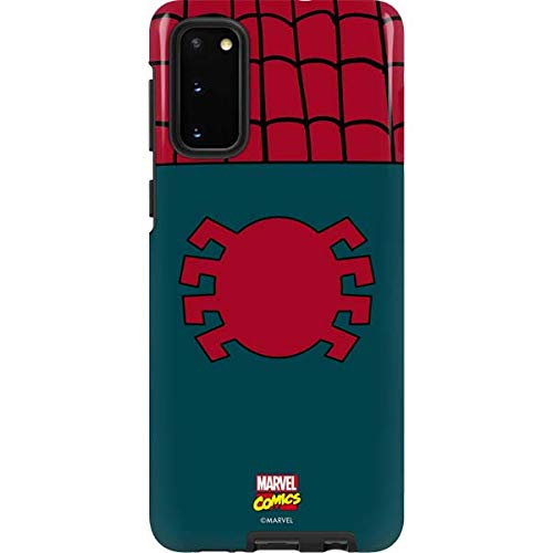 Skinit Pro Phone Case for Galaxy S20 - Officially Licensed Marvel/Disney Spider-Man Close-Up Logo Design