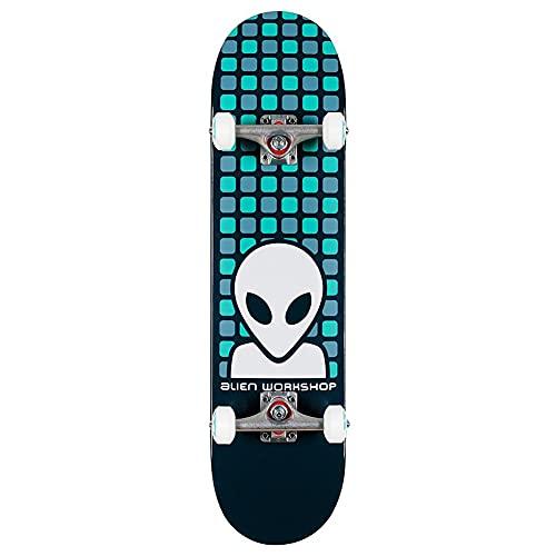 Alien Workshop Matrix Teal - Skateboard completo, 20,3 cm