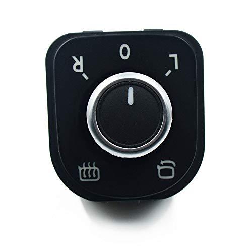 Conjunto de interruptor de la ventana del interruptor de la luz delantera del espejo / ajuste para VW Golf Mk5 6 / Fit para Jetta Mk5 / Fit for Passat B6 B7 / Fit for Tiguan ( Color : Mirror Switch )