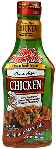 Tony Chachere's Creole Style 30 Minute Marinade, Chicken 12 Oz (Pack of 3)