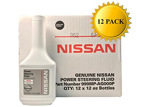 Nissan Genuine OEM Power Steering Fluid 999MP-AG000P (Case of 12)