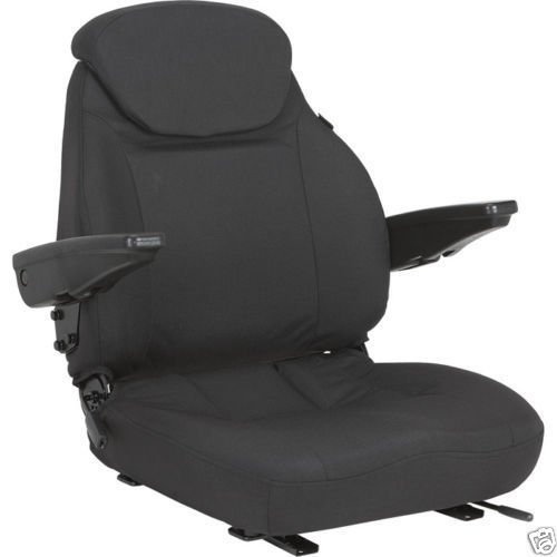 Aftermarket Durable Cordura Seat with Lumbar Support for Scag, Exmark, Toro, ZTR,Grasshopper, Mowers