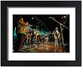 Media Storehouse Framed 15x11 Print of Yothu Yindi Performing, Yarrabah Music and Cultural Festival (19278947)