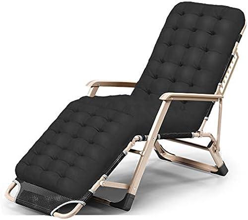 Klappstühle Klappbett Einzelbett Mittagessen einfach Mittagspause Stuhl Büro Nap Bett Camp Bett mehrere Anpassungen (Farbe   B. with pad)