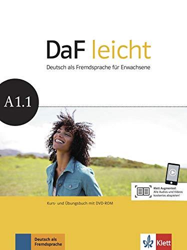 DaF leicht A1.1: Deutsch als Fremdsprache für Erwachsene. Kurs- und Übungsbuch mit DVD-ROM (DaF leicht: Deutsch als Fremdsprache für Erwachsene)