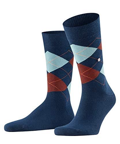 Burlington Herren King M SO Socken,blau (limoges 6117), 40-46