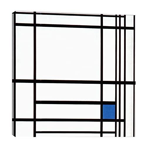 Piet Mondrian 《composición con azul》 Cuadro en Lienzo| Lienzos Decorativos | Cuadros...