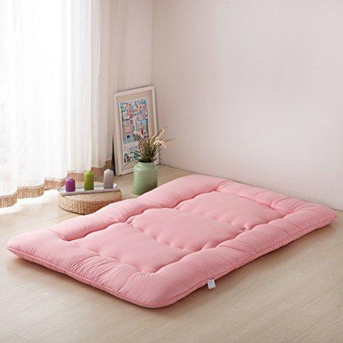 MKXF Colchón Plegable del futón, Topper del colchón del cojín Protector del colchón de la Cama para la Cama casera