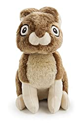 Easter Toys For Dogs - GoDog Wildlife Rabbit plush toy with Chew Guard technology.